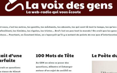 """Interview pour """"La voix des gens"""""""